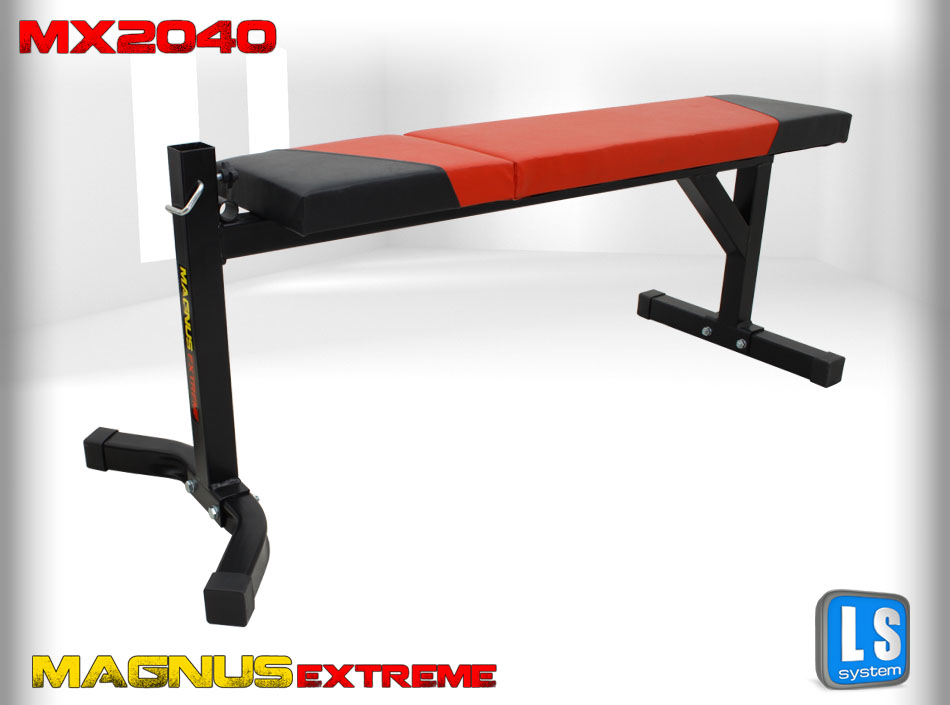 Straight workout bench Magnus Extreme MX2040