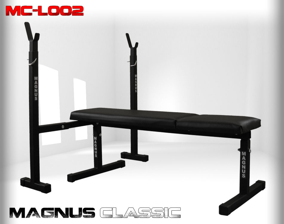 Straight workout bench Magnus Classic MC-L002