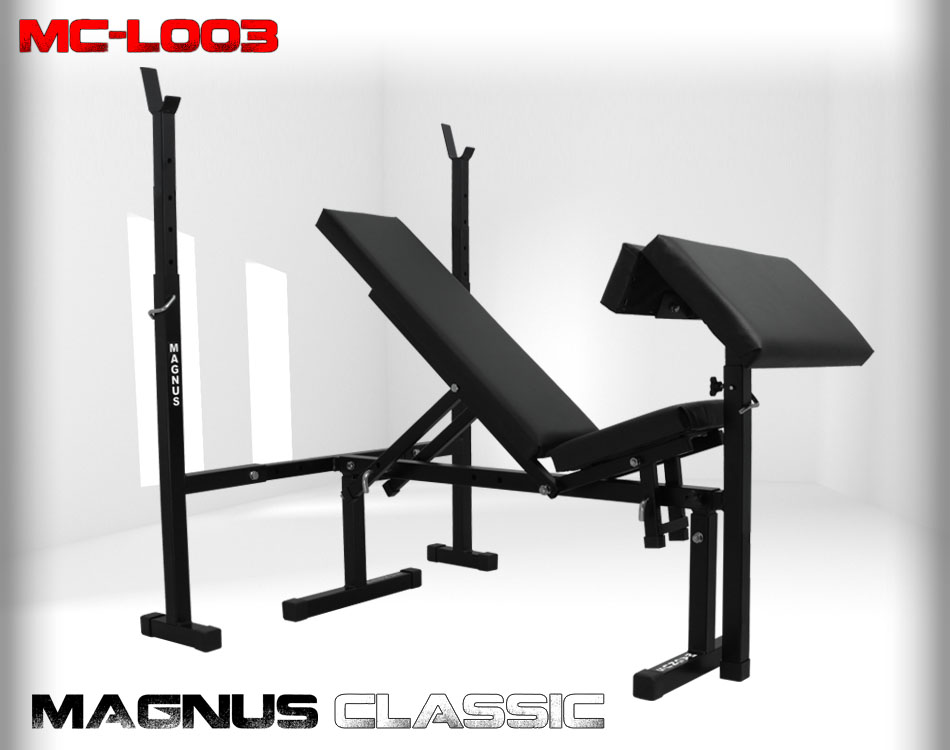 Adjustable workout bench Magnus Classic MC-L003