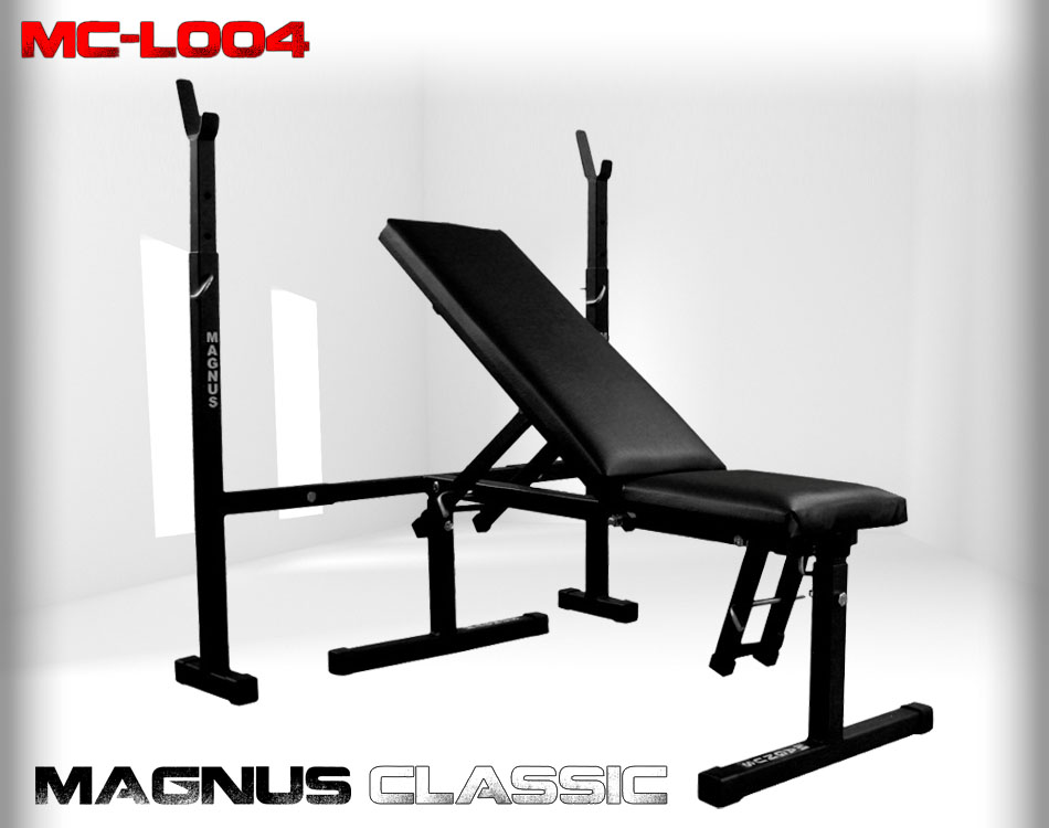 Ławka regulowana do ćwiczeń Magnus Classic MC-L004