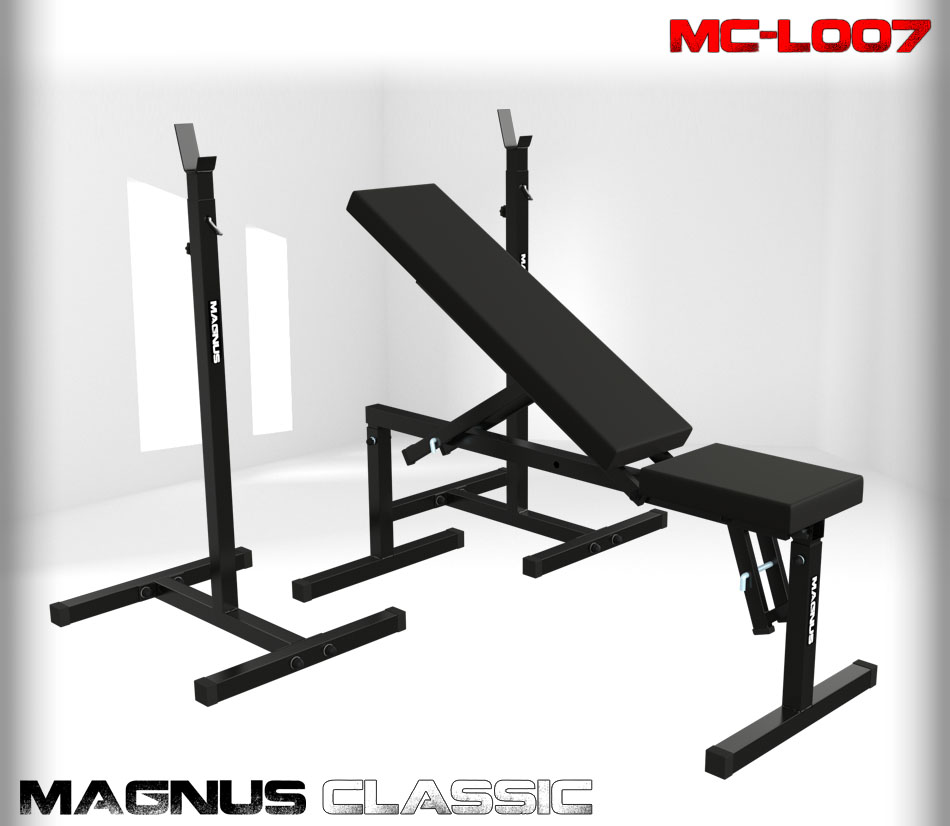 Ławka regulowana do ćwiczeń Magnus Classic MC-L007