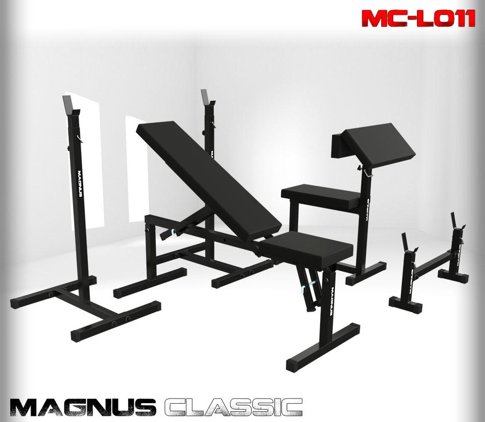 Ławka regulowana do ćwiczeń Magnus Classic MC-L011