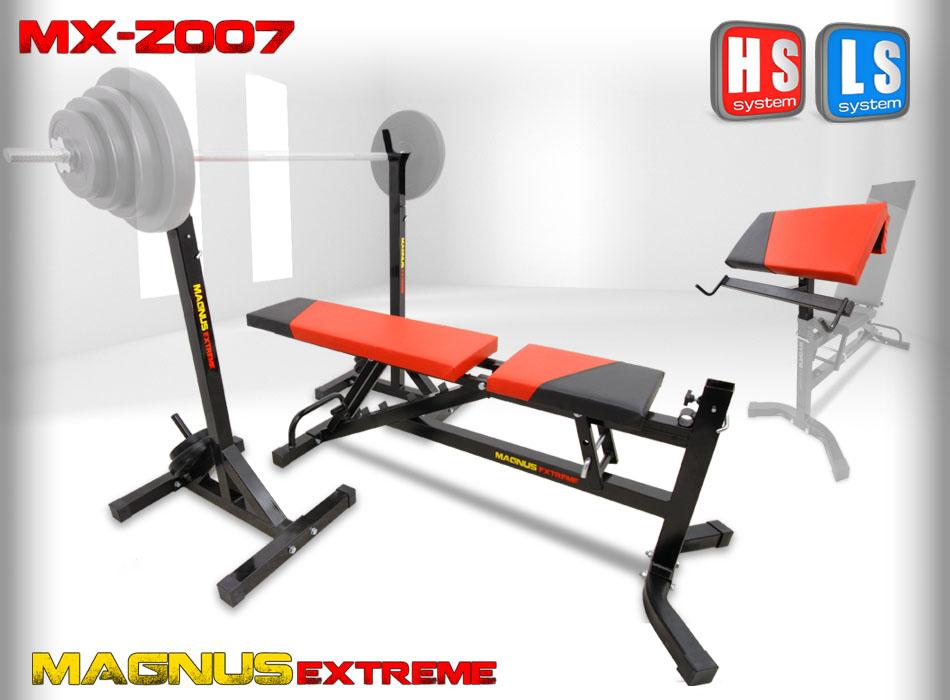 Ławka regulowana do ćwiczeń Magnus Extreme MX-Z007
