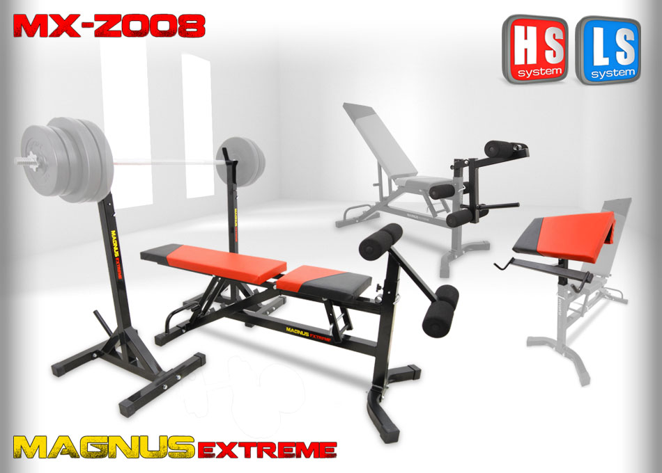 Adjustable workout bench Magnus Extreme MX-Z008
