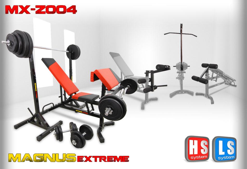 Zestaw z obciążeniem Magnus Extreme MX-Z004 179 kg