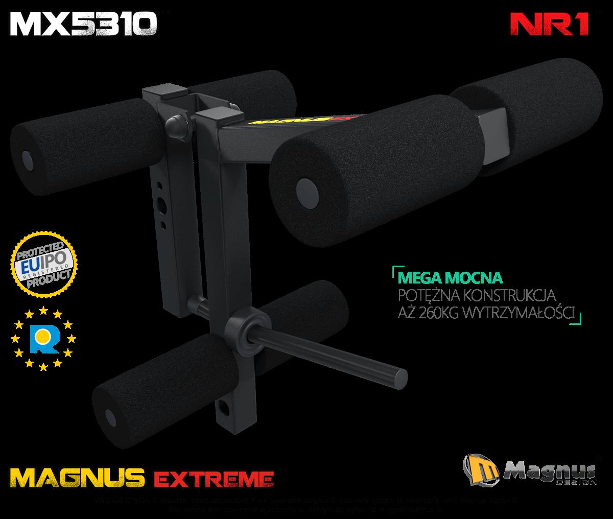 Prasa do ćwiczenia mięśni nóg Magnus MX5310
