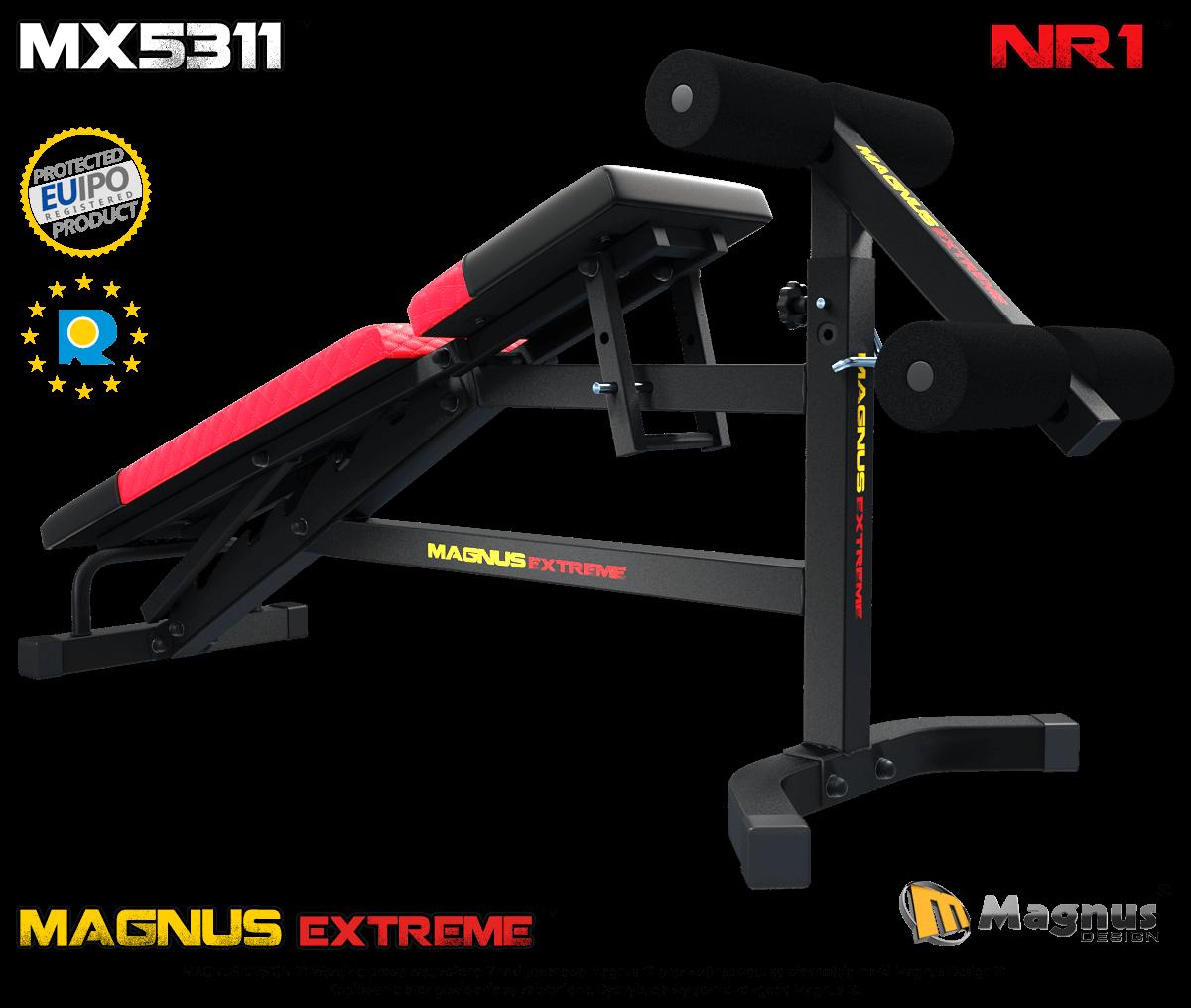 Urządzenie do ćwiczenia mięśni brzucha Magnus