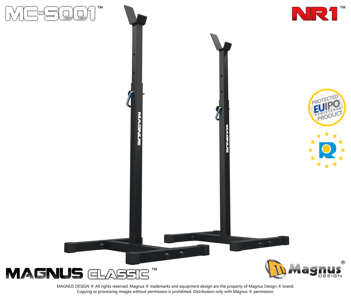 Bodybuilding training stands for bench press Magnus Classic