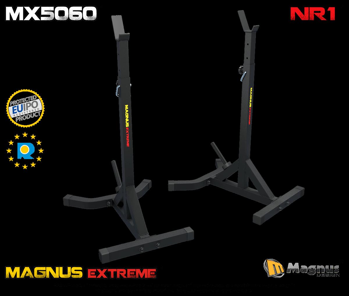 Stojaki treningowe pod sztangę Magnus Extreme MX5060