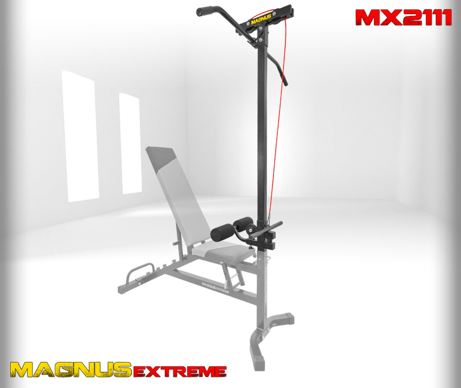Magnus Extreme MX2111 lat tower with top and lower stack
