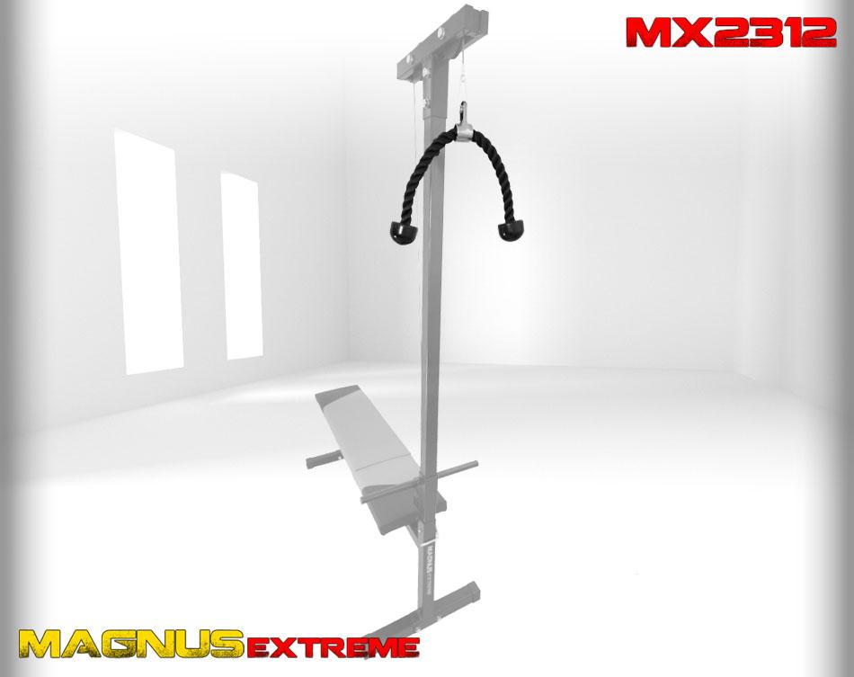 Magnus Extreme MX2312 lat rope