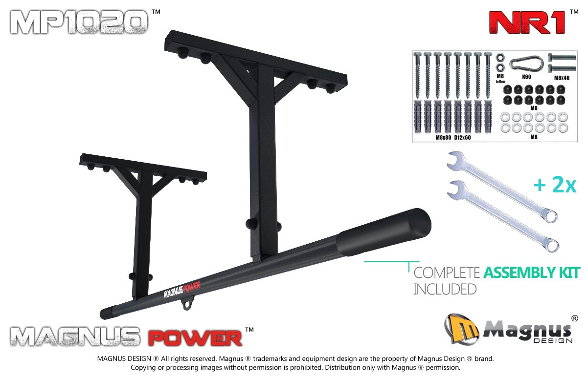 Proper construction of Magnus pull up bars