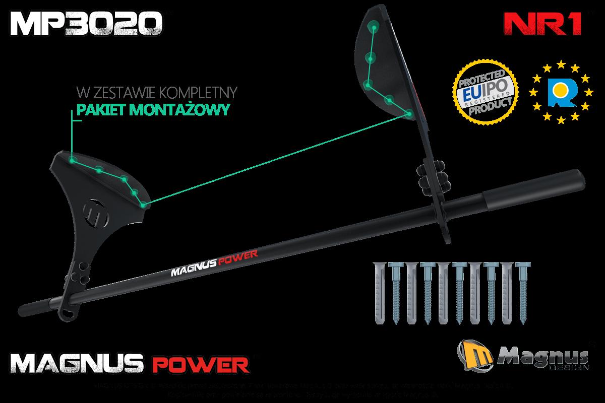 Właściwa konstrukcja laserowego drążka do podciągania Magnus