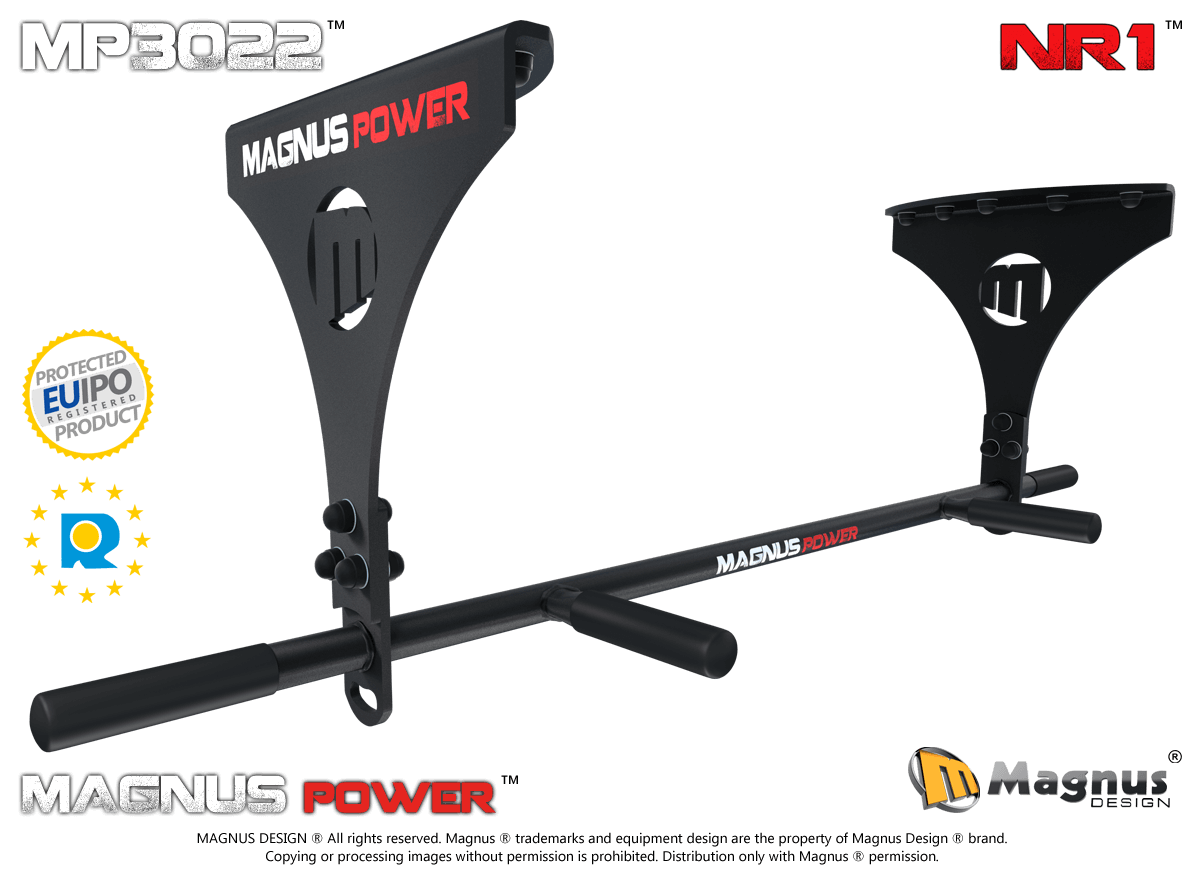 Multifunctional laser pull up bar for training Magnus