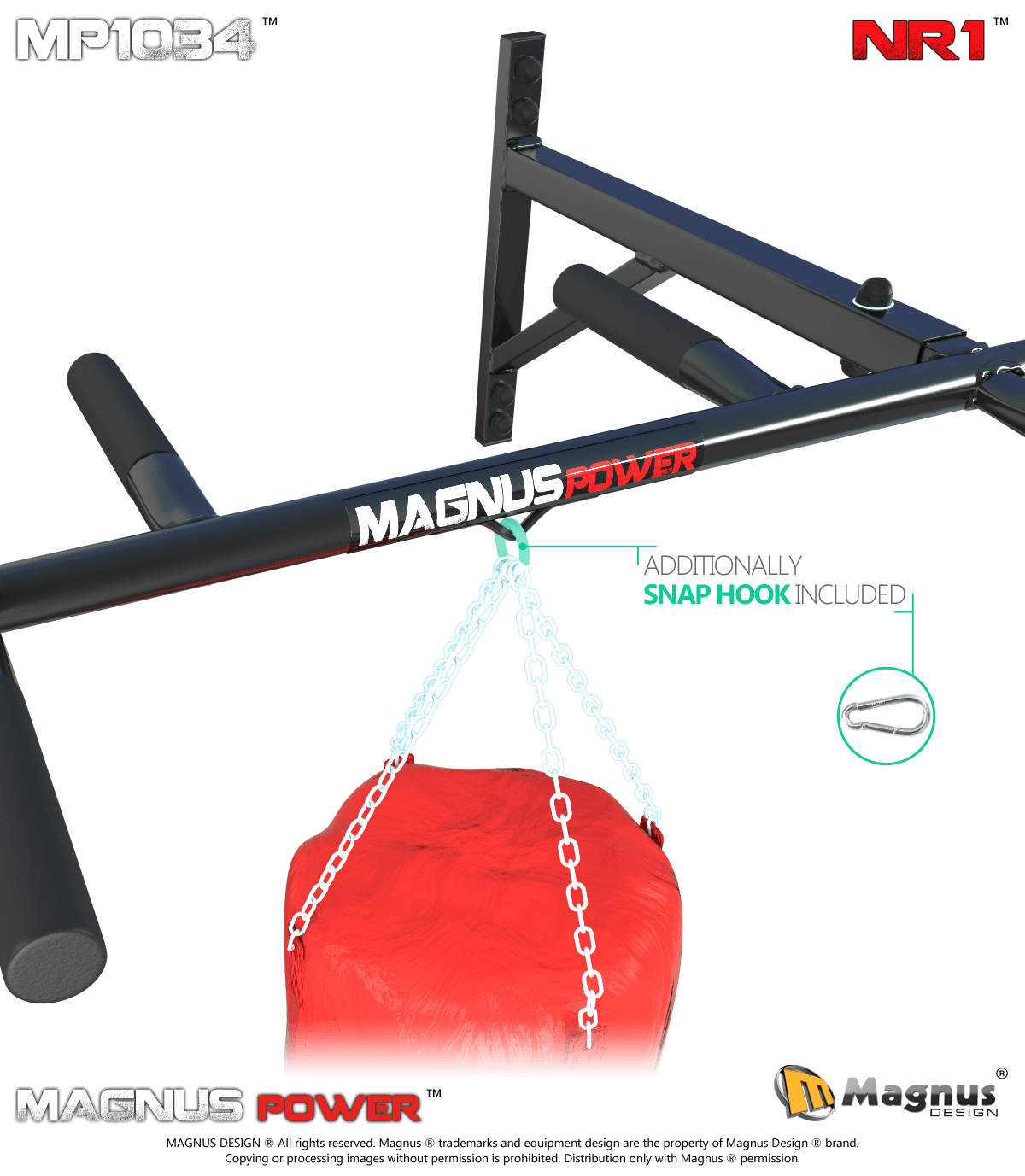 Safe workout on Magnus chin up bars