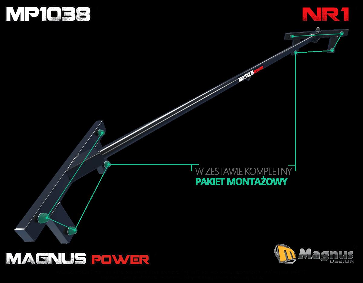 Właściwa konstrukcja drążka do podciągania Magnus