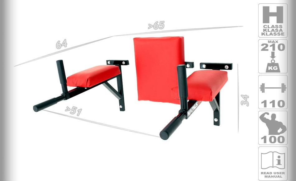 Push up handles, push ups on rails, dips, calisthenic workout, calisthenics on rails