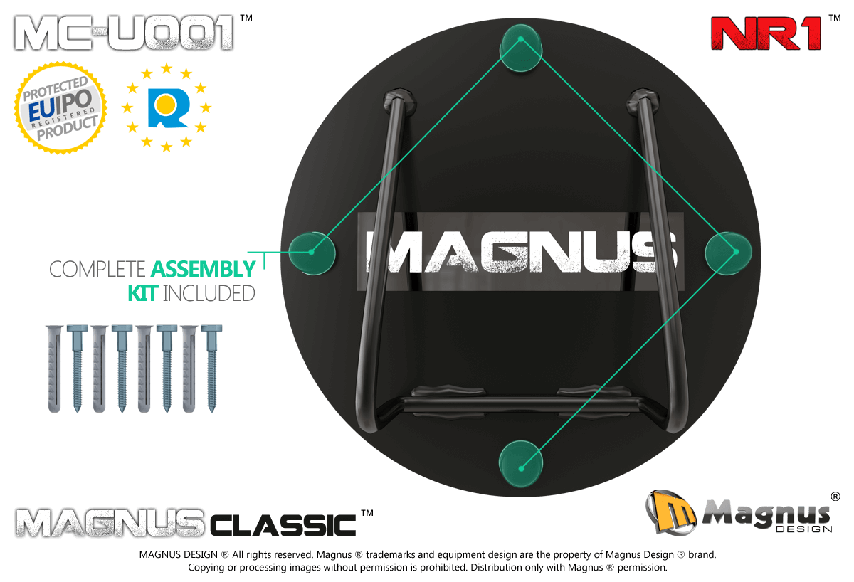 Correct design of the TRX Magnus strap holder