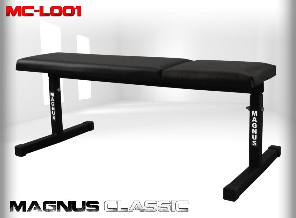 Ławka prosta do ćwiczeń Magnus Classic MC-L001