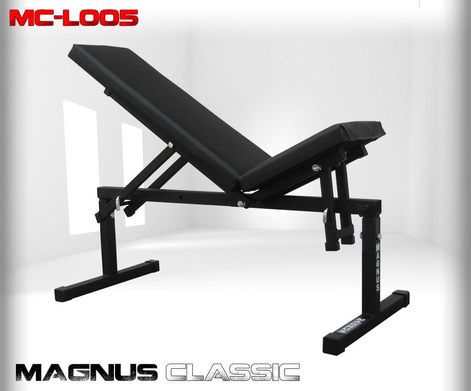 Ławka regulowana do ćwiczeń Magnus Classic MC-L005
