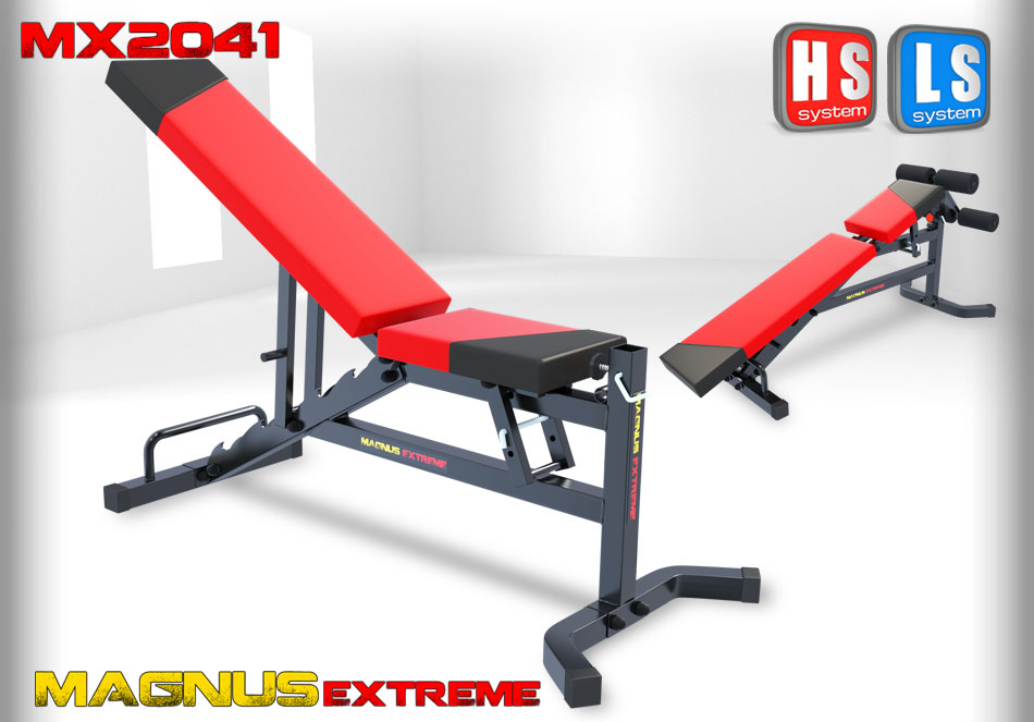 Adjustable workout bench Magnus Extreme MX2041