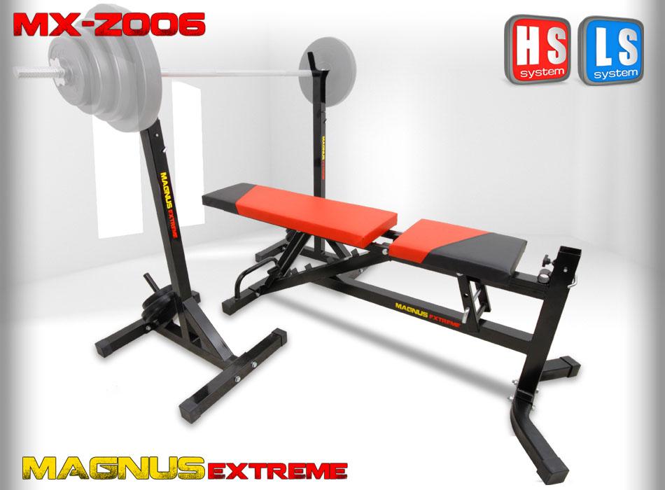 Ławka regulowana do ćwiczeń Magnus Extreme MX-Z006