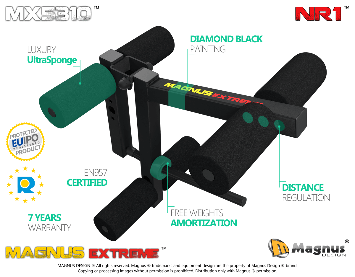 New way to train your legs - try now, amazing leg machine from Magnus