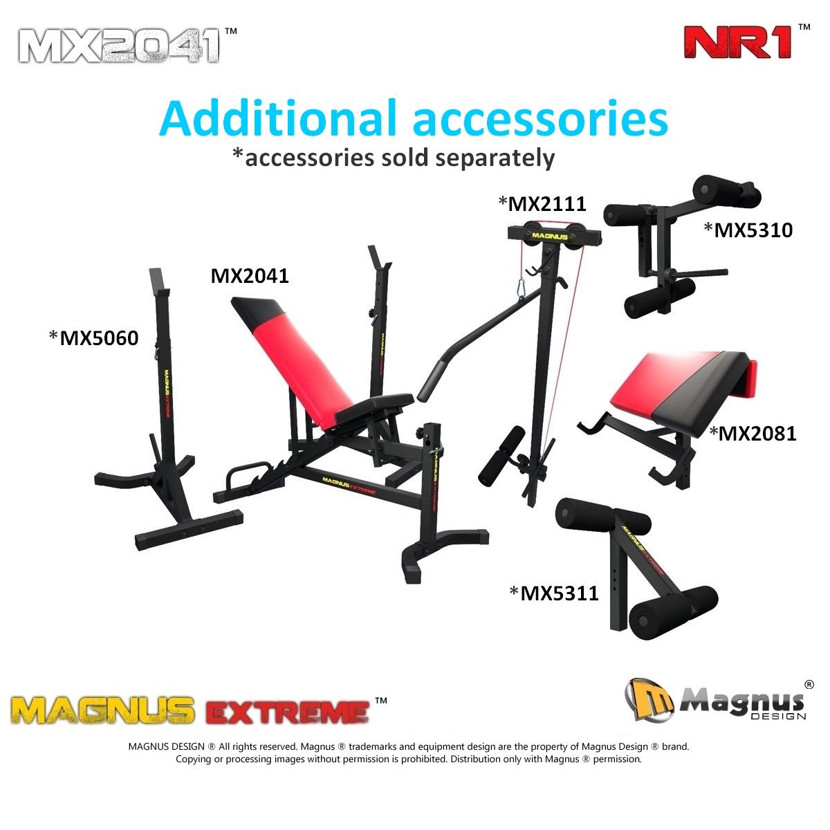 Proper design of the Magnus exercise bench