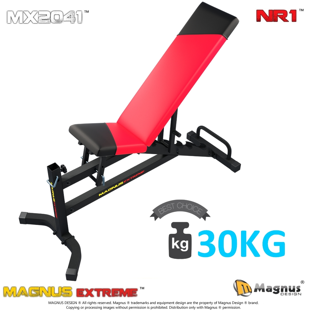 Safe exercises with the Magnus exercise machine