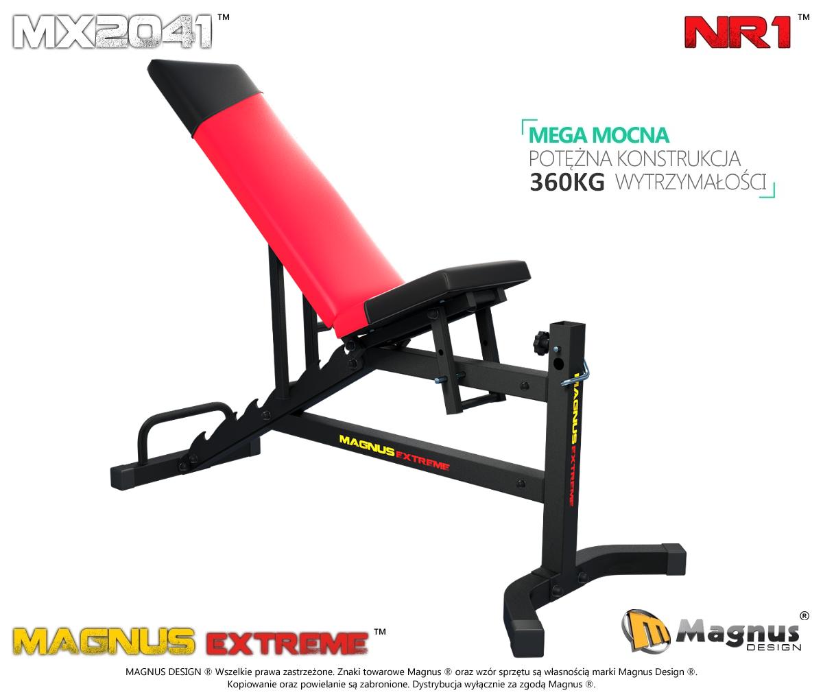 Ławka do ćwiczeń  Magnus MX2041