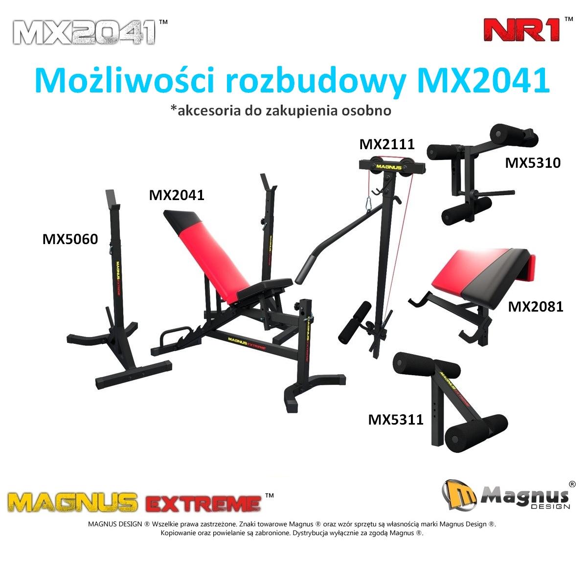 Właściwa konstrukcja ławki do ćwiczeń Magnus