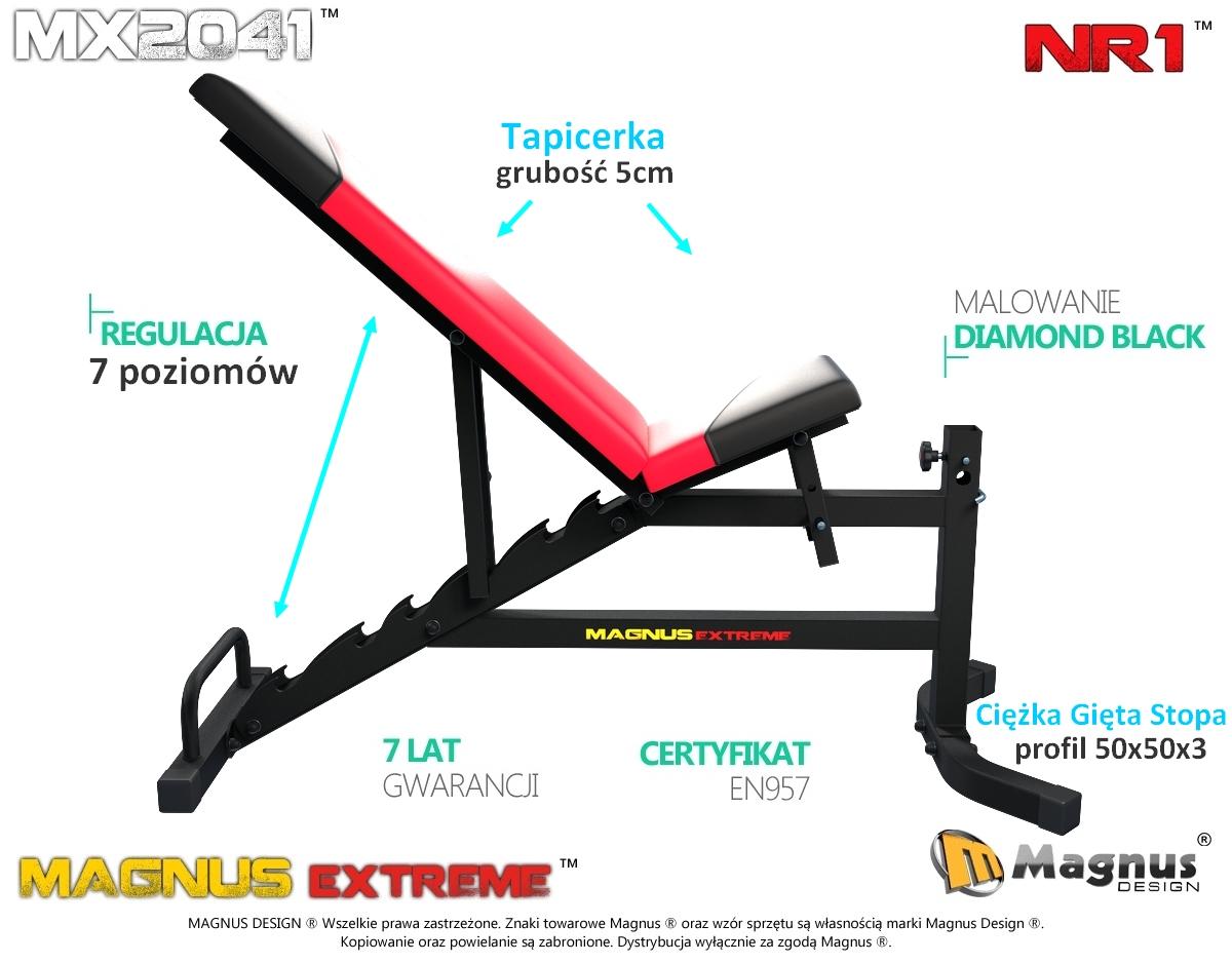 Nowość - trenuj na ławce treningowej Magnus