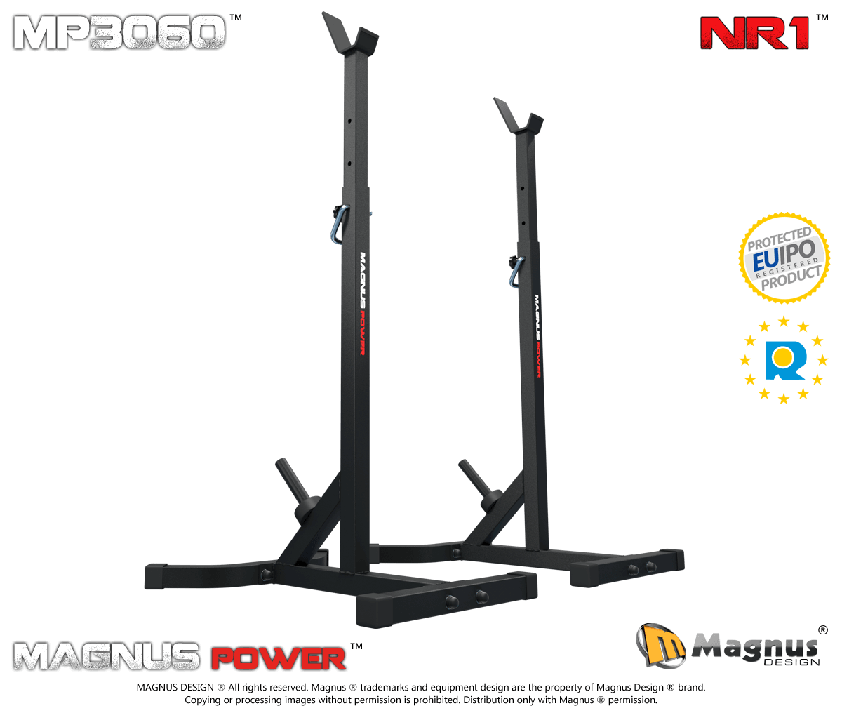 Bodybuilding training stands for bench press Magnus Power