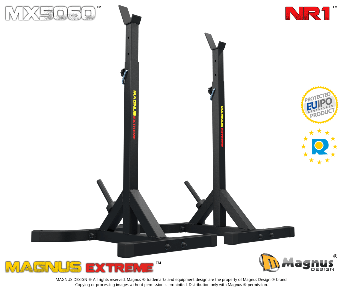 Bodybuilding training stands for bench press Magnus Extreme