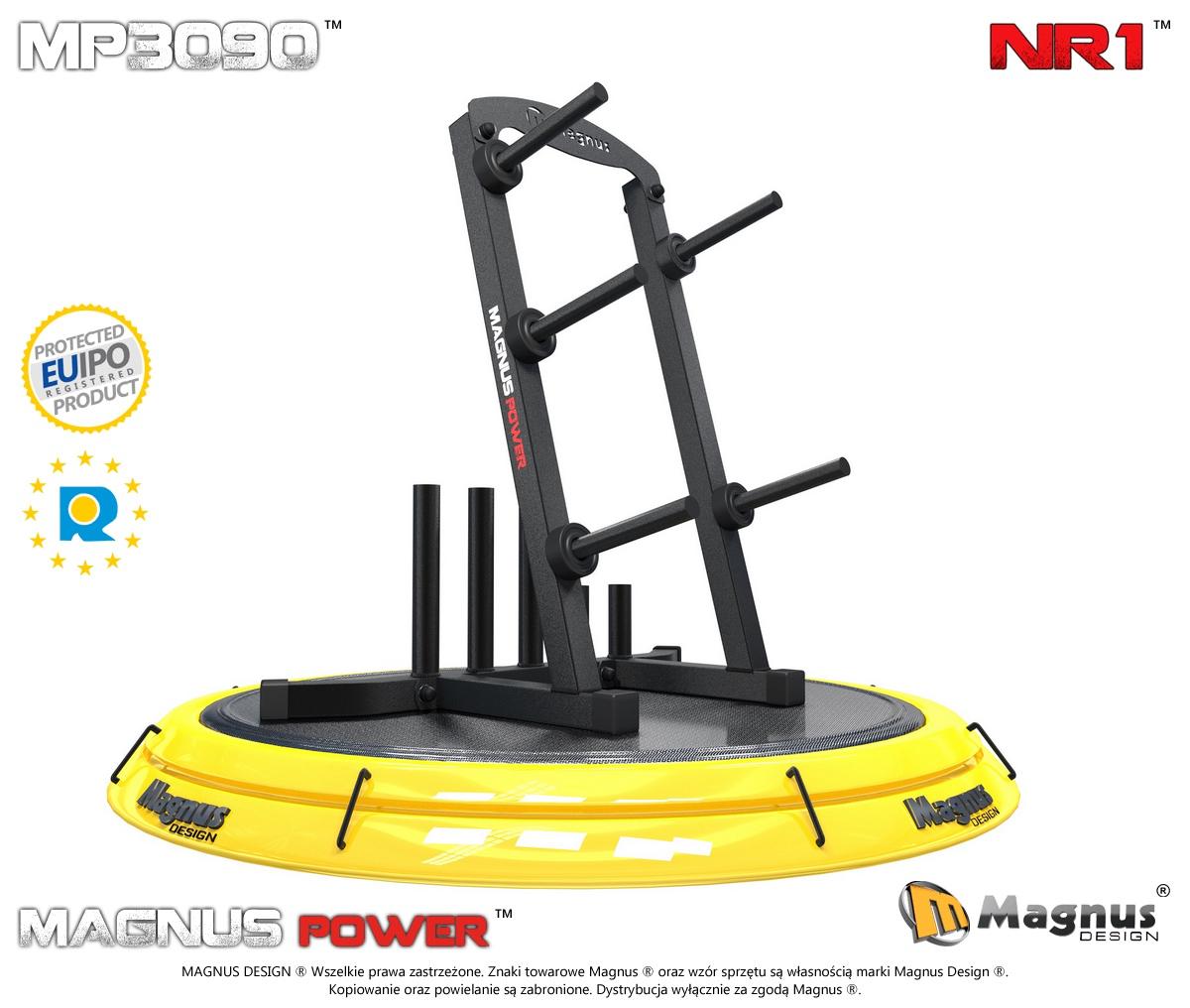 Stojaki treningowe na gryfy  Magnus Power MP3090