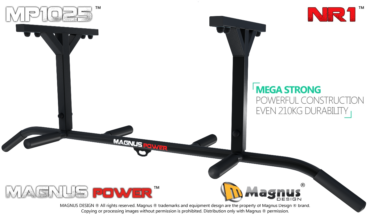 Ceiling mounted pull up bar Magnus MP1025 for exercises