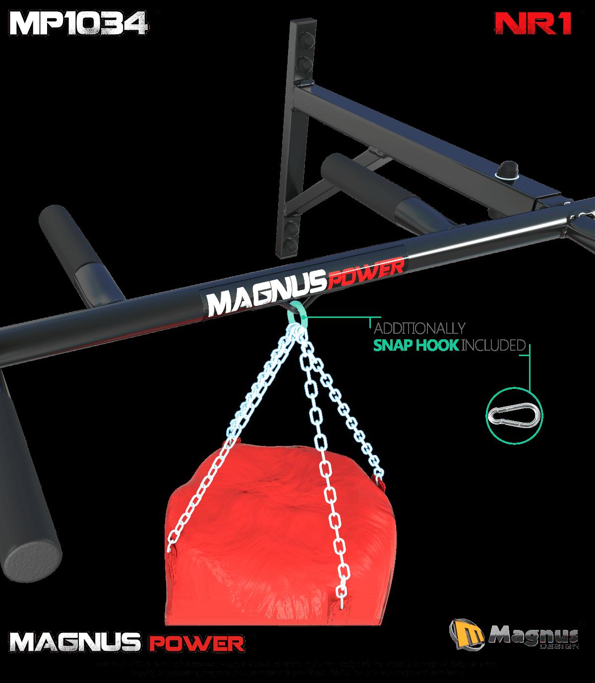 Safe workout on Magnus chin up bars