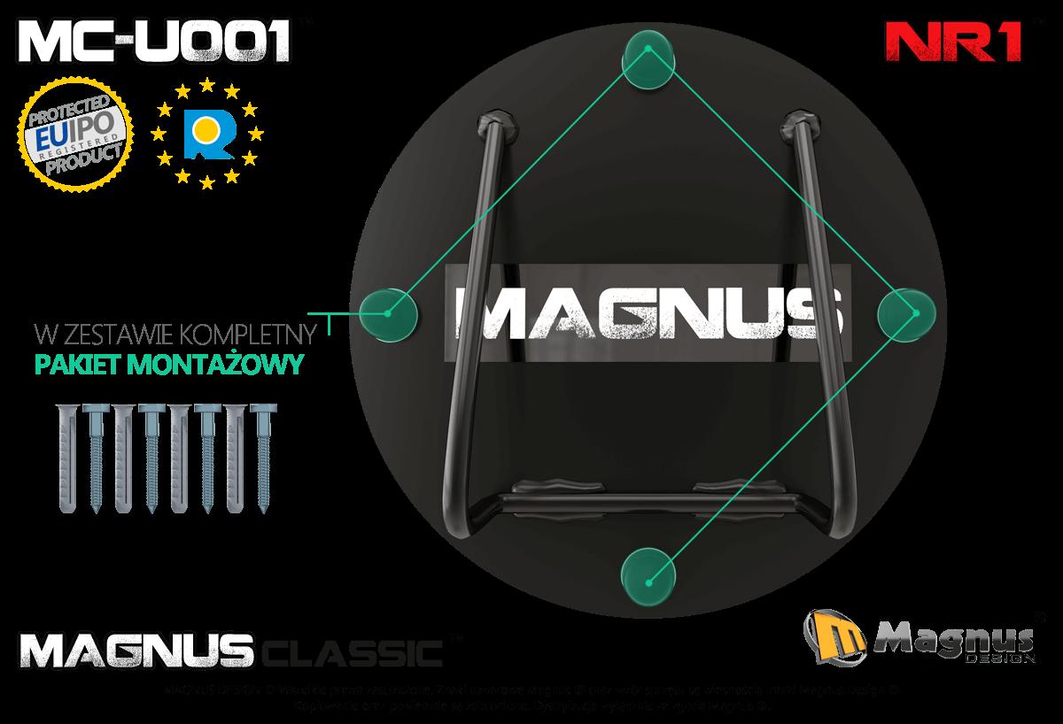 Właściwa konstrukcja uchwytu do pasów TRX Magnus